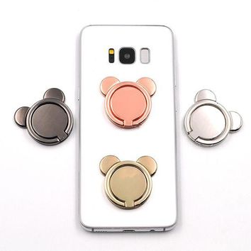 VONE058D Minnie Phone Stand Holder Pop 360 degree Rotate freely Ring