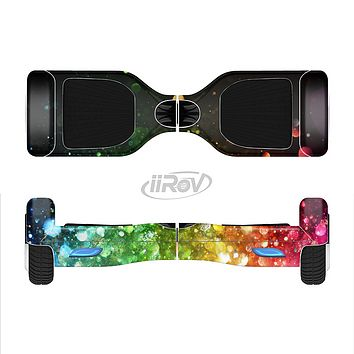 The Neon Glowing Grunge Drops Full-Body Skin Set for the Smart Drifting SuperCharged iiRov HoverBoard
