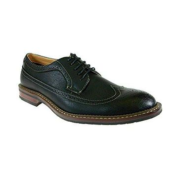 Ferro Aldo Men's 19312 Brogue Wing Tip Oxford Shoes