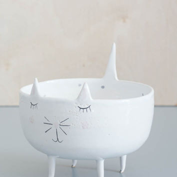 Cat Jewelry Dish