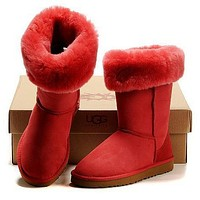 UGG Classic Boots Wool Fur Boots High Boots Shoes