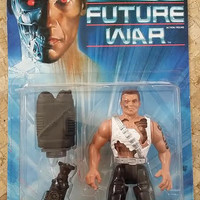 "Vintage, Terminator 2 Future War, 5.5"" Action Figure w/Hot-Blast Bazooka Sprayer,by Kenner 1992,Never Opened"