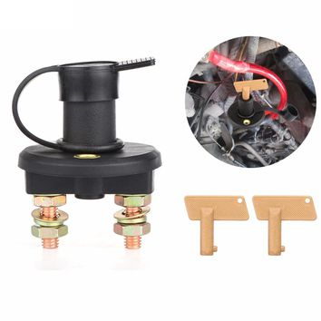 Car Battery Isolator Disconnect Cut OFF Power Kill Switch