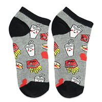 Burger and Fries Socks