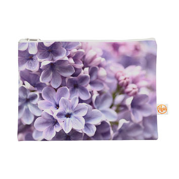 "Sylvia Cook ""Lilac"" Purple Flowers Everything Bag"
