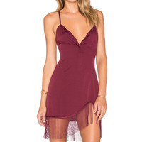 NBD x REVOLVE Mamacita Dress in Maroon