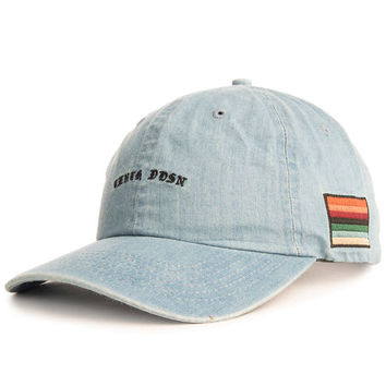 The Tenth Division Strapback in Indigo