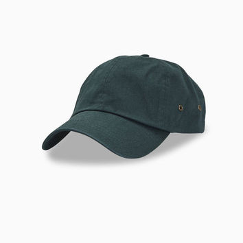 Twill Cap With Brass Eyelets | Wet Seal