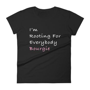 I'm rooting for everybody... sleeve t-shirt