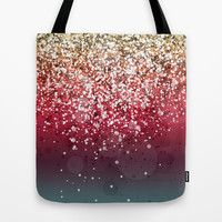 Glitteresques VIII Tote Bag by Rain Carnival