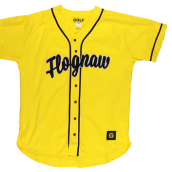 FLOGNAW BASEBALL JERSEY YELLOW