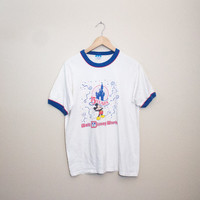 Vintage 15 Year Anniversary Walt Disney World Tee! Womens Size Medium