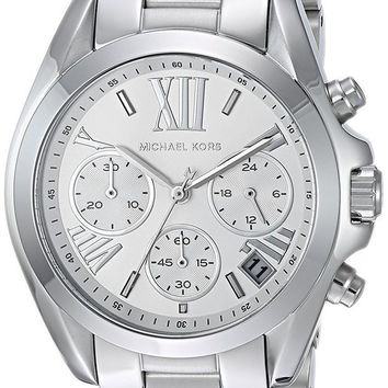 LMFMS6 Michael Kors Watches Mini Bradshaw Chronograph Stainless Steel Watch