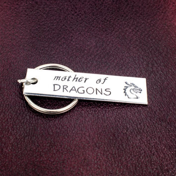 Mother of Dragons - Game of Thrones - Khaleesi - Aluminum Key Chain
