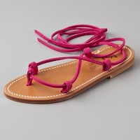 K. Jacques Bikini Ankle Wrap Sandals | SHOPBOP