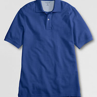 Men's Short Sleeve Original Mesh Polo Shirt from Lands' End