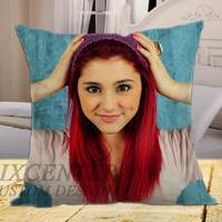 "Ariana Grande 5 on square pillow cover 16"" 18"" 20"""