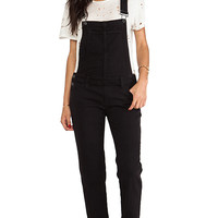 Paige Denim Sierra Overall in Black