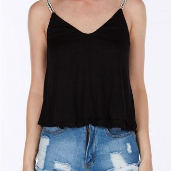 Tracey Cropped Tank Top