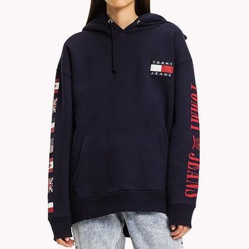 Tommy Hilfiger Women Men Hot Hoodie Cute Sweater-5