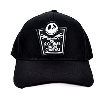 Nightmare Before Christmas Tombstone Hat Baseball Cap