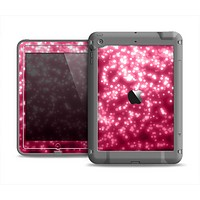 The Glowing Unfocused Pink Circles Apple iPad Air LifeProof Fre Case Skin Set