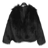 Oversized Soft Fur Jacket