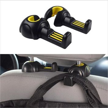 2pcs Universal Multi Use Car Back Seat Headrest Hanger