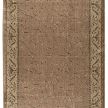 Nourison Somerset Peach Area Rug ST02 PCH (Rectangle)