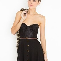 Sedona Belted Skirt - Black in  Clothes at Nasty Gal