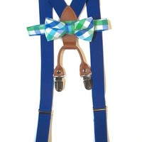 Kids and Baby Adjustable Toddler Baby Suspenders and Bow Tie Set