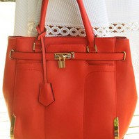 Now You Know Purse: Red