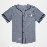 Dgk From Nothing Mens Baseball Jersey Blue  In Sizes