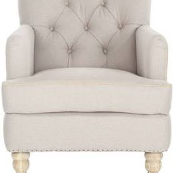 Colin Tufted Upholstered Club Chair