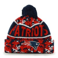 '47 Brand New England Patriots Armory Digital Camouflage Cuffed Knit Cap - Adult