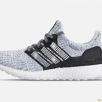 Adidas Ultraboost Parley + Crystals - Blue Spirit/Carbon/White