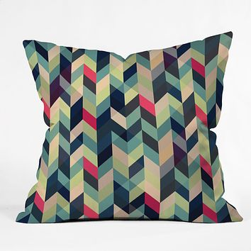 Gabi Arise Throw Pillow