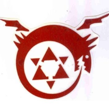 Full Metal Alchemist Homunculus Temporary Tattoo