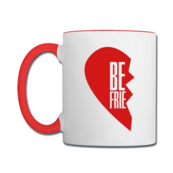 best friends heart Coffee and Tea Mug