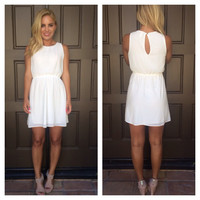 Sweet & Innocent White Dress