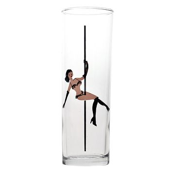 Strip Tea Glass | 13-1/2-oz