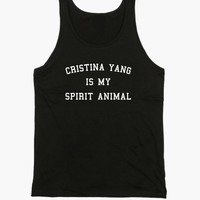 Cristina Yang Is My Spirit Animal Tank Top