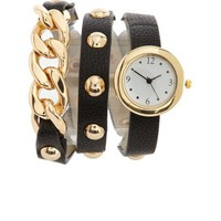 Chain Link Wrapped Watch: Charlotte Russe