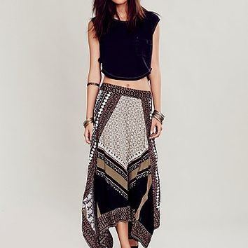 Free People Womens Bedouin Traveler Skirt