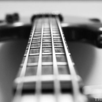 The Bass Guitar 8x10 Photography Print Music Rock and by thebqe