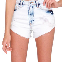 Blue Sky Denim Shorts