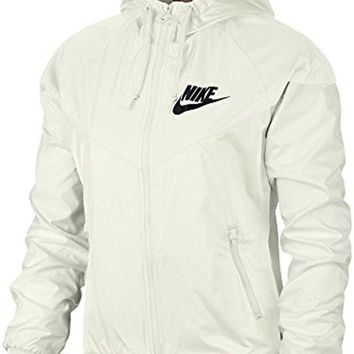 ONETOW NIKE Women's Sportswear Original Windrunner Jacket White 904306 133