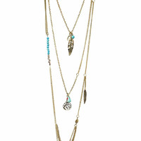 Canyons Layer Necklace