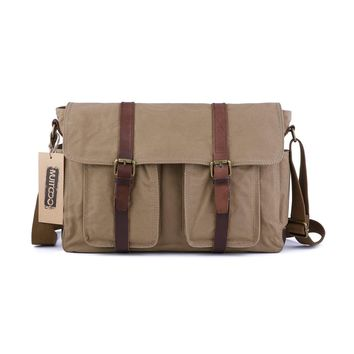 Canvas Messenger Shoulder Bag for Mens #60301