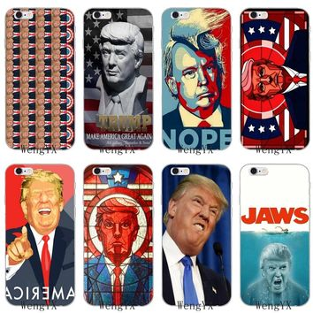fun US President Donald Trump silicone Soft phone case For Sony xperia XA Z Z1 Z2 Z3 Z4 Z5 Premium Compact Mini M2 M4 M5 E3 T3
